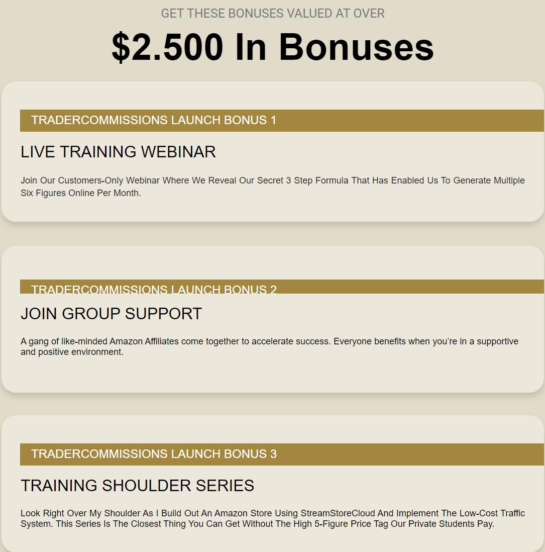 Trader Commissions-bonus