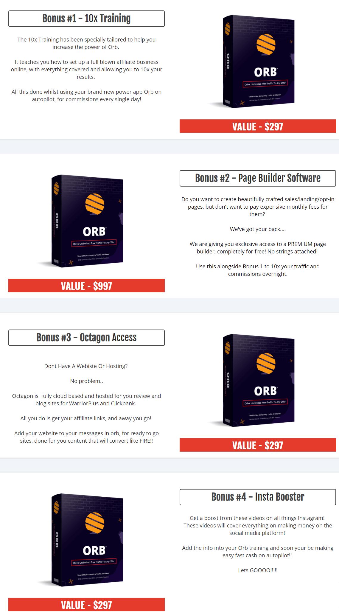 ORB-bonus
