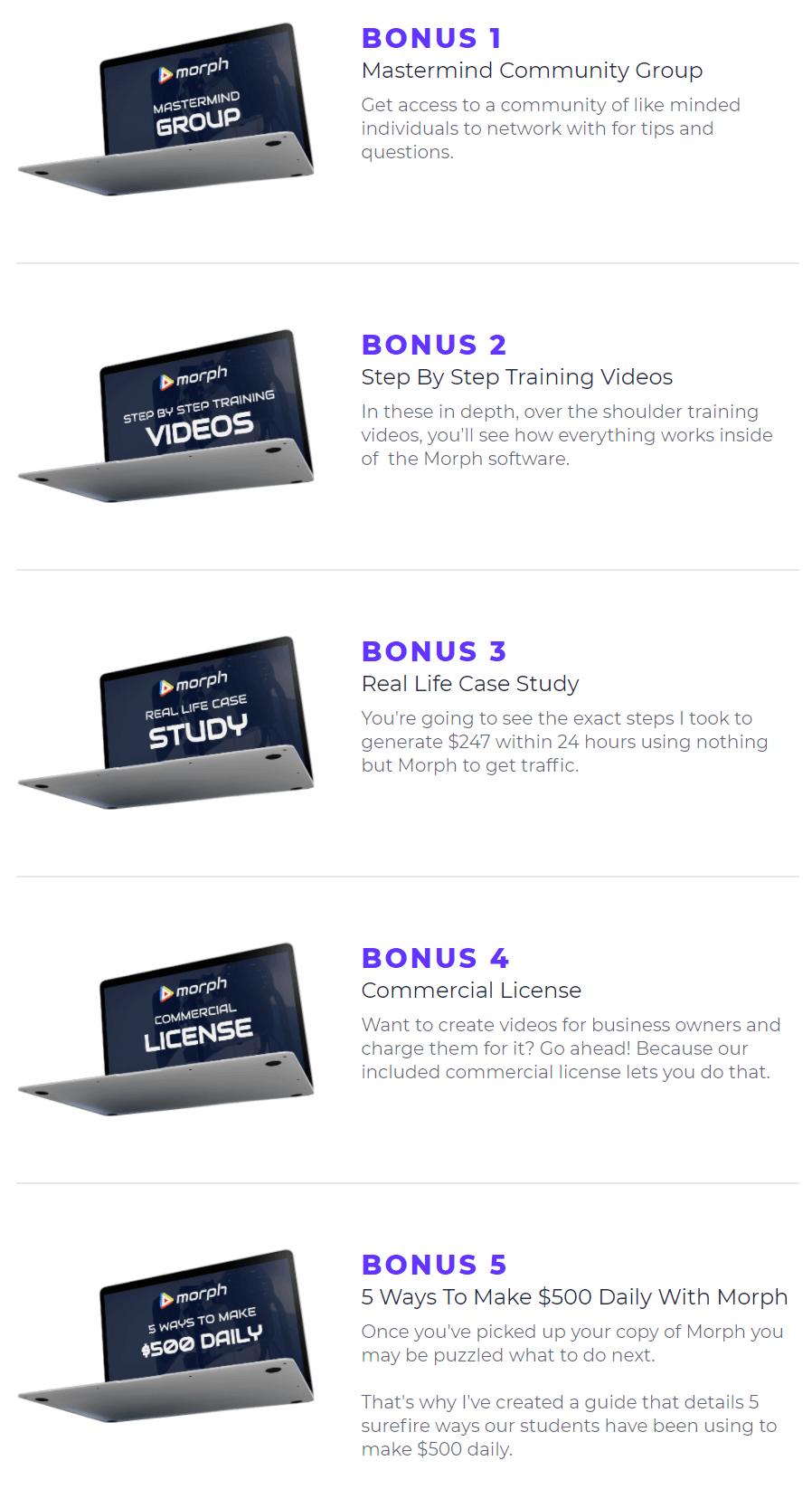 Morph-bonus