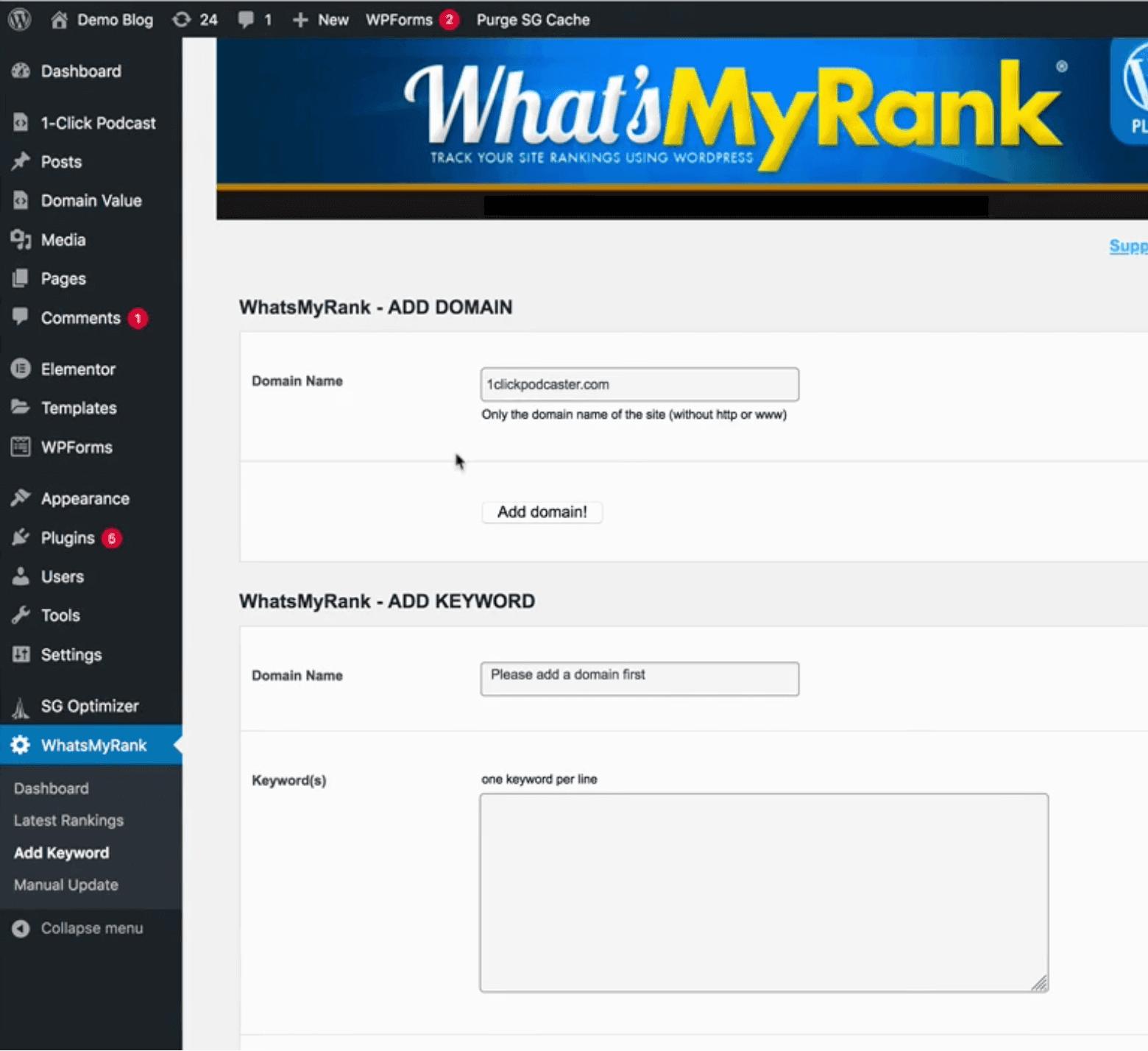 WhatsMyRank-software